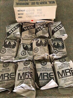 $45 • Buy Mre Military New Lower Price Choose 4 Meals 2022 Inspection Free U.s. Shipping