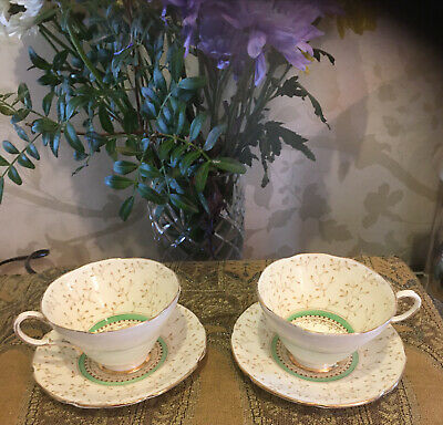 £16 • Buy Paragon By Appointment Fine Bone China Cabinet Tea Cup Cup & Saucer X2