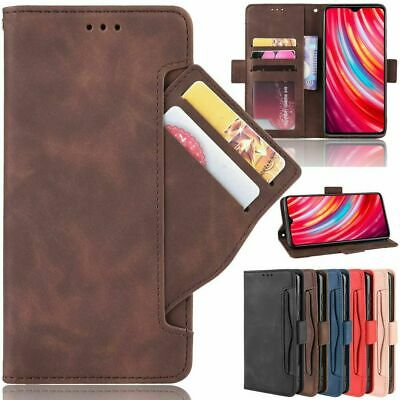AU17.49 • Buy For Xiaomi Mi 11 Lite Redmi Note 10 Luxury Card Slots Leather Wallet Case Cover