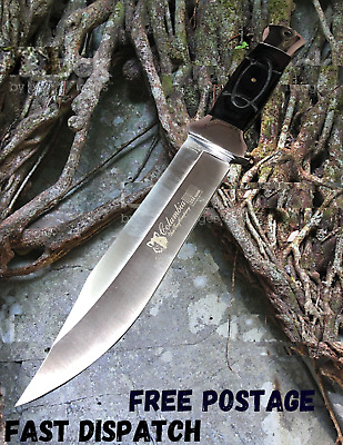 AU39.99 • Buy COLUMBIA Fixed Blade Knife Large Bowie Camping Hunting Survival Full Tang Knife