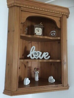 £30 • Buy Corner Unit Solid Farmhouse/Country Pine Wall Unit