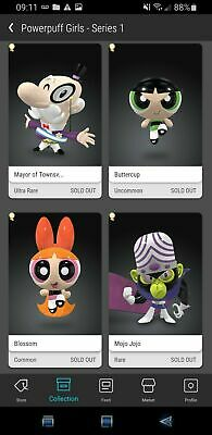 $999 • Buy Veve NFT Powerpuff Girls COMPLETE Set - Mayor Mojo Buttercup Blossom Sold Out!