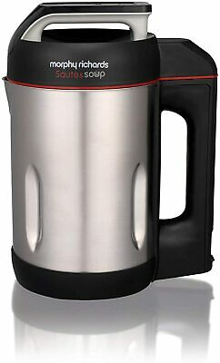 £94.24 • Buy Morphy Richards Saute And Soup Maker 501014 Brushed Stainless Steel Soup Maker