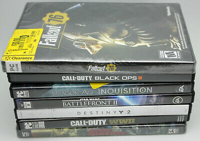 AU33.41 • Buy Lot Of 8 PC Overwatch GOTY,Call Of Duty,Dragon Age,Destiny, Mature Games