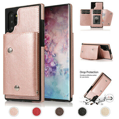AU16.99 • Buy For Samsung S21 S20 Note 20 10 A51 A71 A20 Leather Flip Wallet Card Holder Case