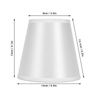 £13.26 • Buy 6Pcs Nordic Modern Fabric Lampshade Chandelier Wall Lamp Cover For Home Bedroom.