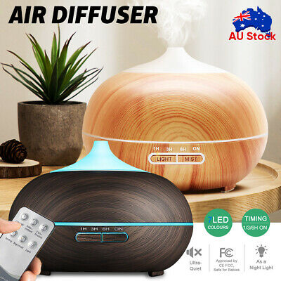AU17.99 • Buy Diffuser Aroma Aromatherapy LED Essential Oil Ultrasonic Air Humidifier Purifier
