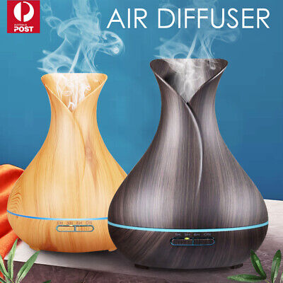 AU39.59 • Buy Aroma Aromatherapy Diffuser LED Essential Oil Ultrasonic Air Humidifier Purifier