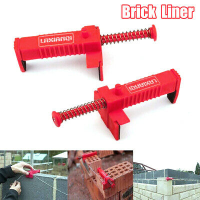 £5.99 • Buy 2X Brick Line Runner Wire Drawer Clips Bricklaying Fixer Building Construction C