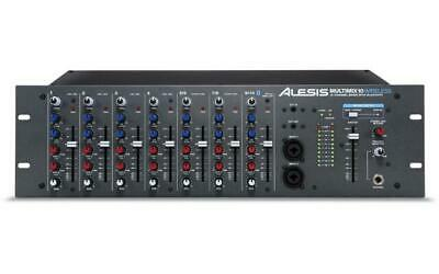 £245 • Buy Alesis Multimix 10 Wireless Bluetooth Streaming Rack Mountable 10 Channel Mixer