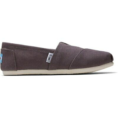 £18 • Buy Toms Classic ASH Canvas Shoes Women's Flats Slip-on Sneakers 1001B07 UK 10