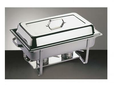 £69.97 • Buy APS Twin Chafing Dish Set  Polished Stainless Steel
