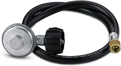 $ CDN39.83 • Buy Weber 7627 QCC1 Hose And Regulator Kit For Genesis Gas Grill, 30-Inch