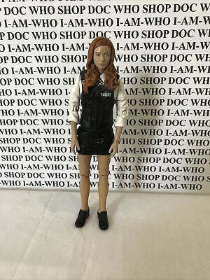 """£10.99 • Buy Dr Doctor Who Amy Pond In Police Uniform Fancy Dress 5.5"""" Figure 🇬🇧 Free Post"""