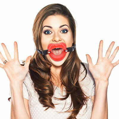$5 • Buy Silicone Mouth Gag Lips S/Strap O Ring Open Lip Ball Costume Adult Gift A