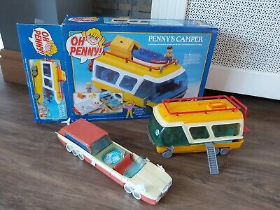 £44.95 • Buy Classic OH PENNY! PENNY'S CAMPER VAN And STRETCH LIMO TOYS 1988 BOXED.