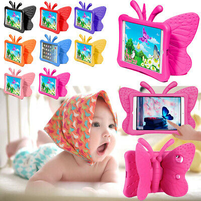 AU23.99 • Buy Shockproof Stand Cover Case For IPad 8th 7th Gen Heavy Duty 3D Butterfly Tough