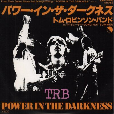 £21 • Buy TOM ROBINSON BAND Power In The Darkness 7 INCH VINYL Japan Emi 1978 Pic Insert