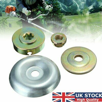 £6.05 • Buy 4PCS Blade Nut Fixing Kit Part Replacement For Stihl Strimmer Brush Cutter Metal