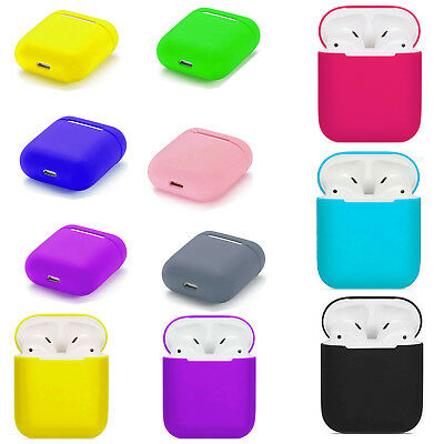 $ CDN4.99 • Buy For Apple AirPods 1/2 Shockproof Silicone Earphone Protective Skin Case Cover