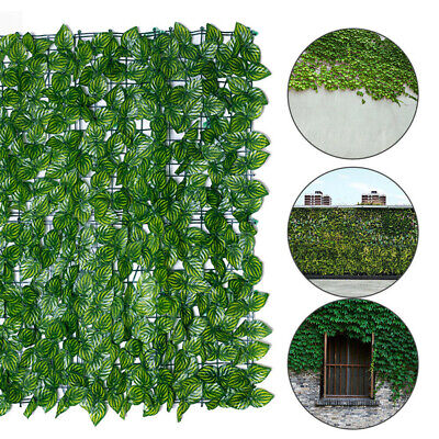 £12.99 • Buy 0.5m X3m Artificial Screening Ivy Leaf Hedge Panels On Roll Privacy Garden Fence