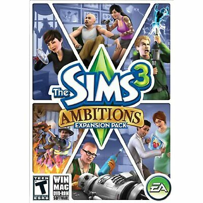 £13.43 • Buy The Sims 3: Ambitions (WIN/MAC, 2010) NEW