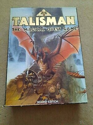 £49.99 • Buy Games Workshop Talisman 2nd Edition Board Game Excellent Condition Dungeons D&D