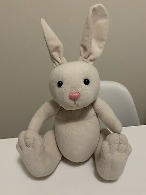 £14.99 • Buy Charlie Bears Bunny Teddy Pink White Soft Toy