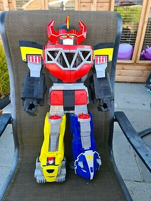 £19 • Buy Imaginext Fisher Price Power Rangers Mighty Morphin Megazord 28  With Lights