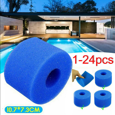 £4.28 • Buy 1-24pcsUK Lay In Clean Spa Hot Tub S1 Washable Bio Foam VI LAZY Filter