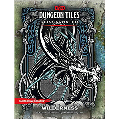 AU40.50 • Buy D&D Dungeon Tiles Reincarnated - Wilderness - Dungeons And Dragons