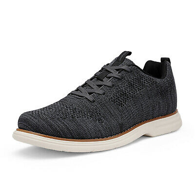 $16.79 • Buy Mens Fashion Sneakers Lace Up Casual Shoes Knit Athletic Shoes Walking Shoes