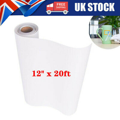 £6.99 • Buy 6M Clear Vinyl Application Tape For Car Wall Craft Art Decal Transfer Paper Roll