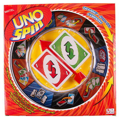 AU24.90 • Buy Board Game UNO SPIN Revolution Kid Adult Educational Toy Hot Fun Party Fun Game
