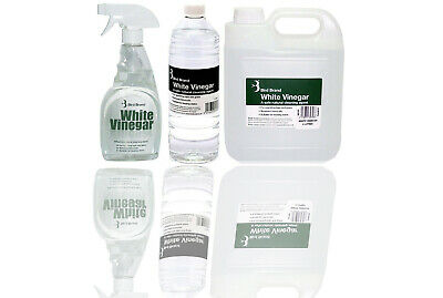 £8.49 • Buy White Vinegar Cleaning Limescale Glass Cleaner Ultimate Stain Remover Solution