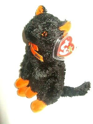£9.99 • Buy Ty Beanie Baby Fraidy - Halloween Cat - Mint - Retired With Tags