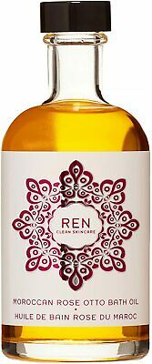 £27.49 • Buy Ren Skincare Moroccan Rose Otto Bath Oil - 110ml Relaxing, Pampering Bath Oil