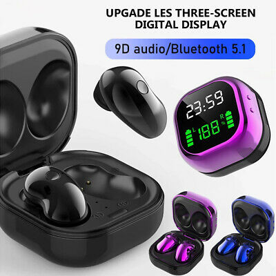$ CDN18.76 • Buy 2021 Bluetooth 5.1 Earbuds Wireless Headset Earphone For IPhone Samsung Android