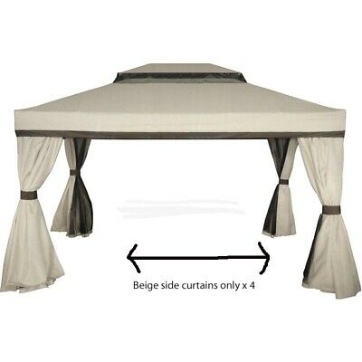 AU179 • Buy 3 X 4 Gazebo Mimosa SIDE WALLS ONLY Tent- New Outdoor Living BBQ Party