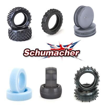 £8.95 • Buy Schumacher 1:10 Tyres, Wheels, Foams - All Treads/Compounds - Multi-Buy Discount
