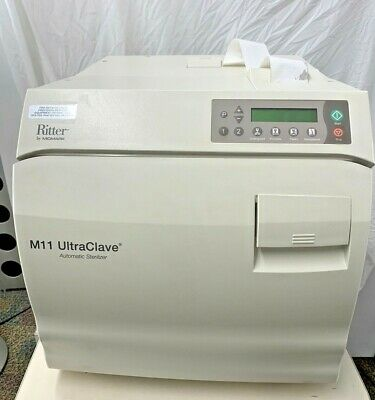 $3999 • Buy Midmark M11 UltraClave Automatic Sterilizer W/ Printer - Exceptional Condition!
