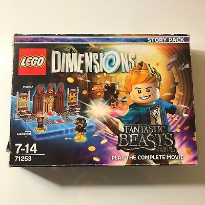 AU23.99 • Buy LEGO Dimensions Story Pack 71253 Fantastic Beasts And Where To Find Them