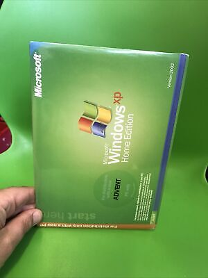 £9.99 • Buy Microsoft Windows XP Home Edition ADVENT PC ONLY Version 2002 BRAND NEW & SEALED