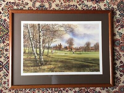 £49.99 • Buy Framed Print Of Hartley Wintney Golf Club Perfect Gift For A Golfer