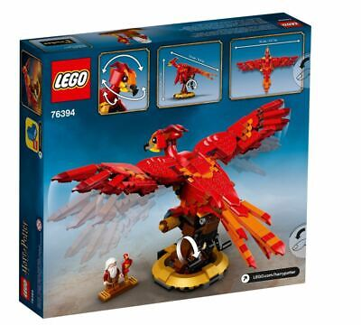 £45 • Buy LEGO Harry Potter Fawkes Dumbledore's Phoenix Set 76394 Fast Delivery