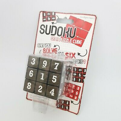 £7.99 • Buy Sudoku Cube Puzzle Game Brain Teaser Adults Kids Childs Game Toys