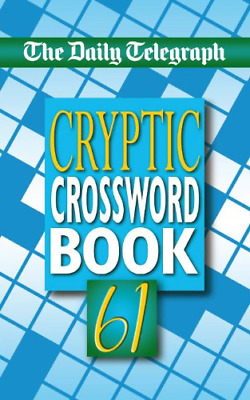 £108.87 • Buy Daily Telegraph Cryptic Crosswords 61: No. 61, Telegraph Group Limited, Good Con