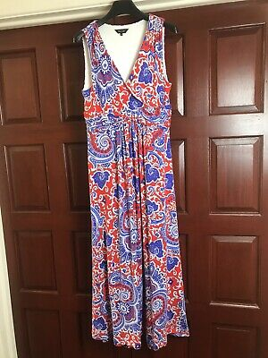 £12 • Buy Multi Coloured Maxi Dress By Phase Eight Size 16