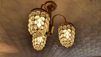 £45 • Buy Period Glass Light Fittings - Chandeliers And Wall Lights