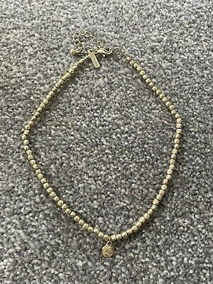 £4 • Buy Topshop Gold Coin Choker Necklace